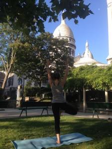 Les cours de yoga à Montmartre